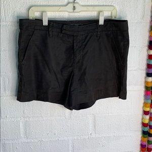 Level 99 Linen Black Tencel Chino Shorts sz 29
